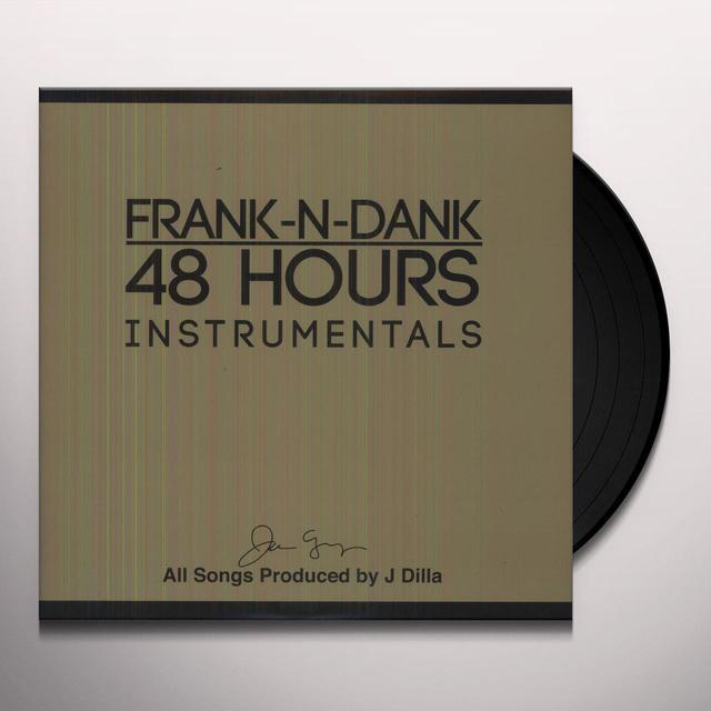 J Dilla 48 HOURS INSTRUMENTALS Vinyl Record