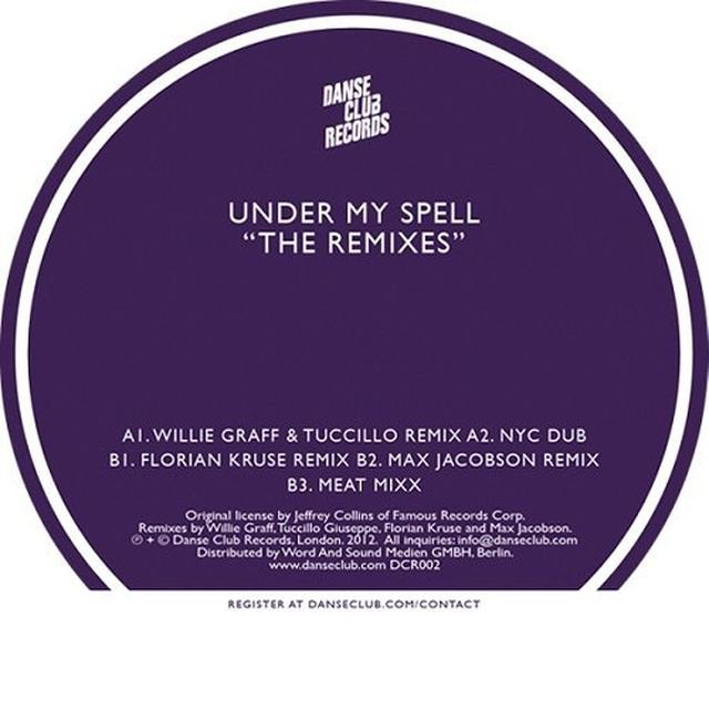 Michael Whitehead UNDER MY SPELL: THE REMIXES Vinyl Record