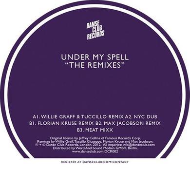 Michael Whitehead UNDER MY SPELL: THE REMIXES Vinyl Record