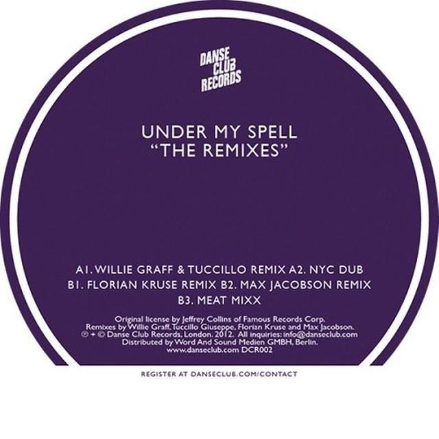 Michael Whitehead UNDER MY SPELL: THE REMIXES Vinyl Record - Remixes