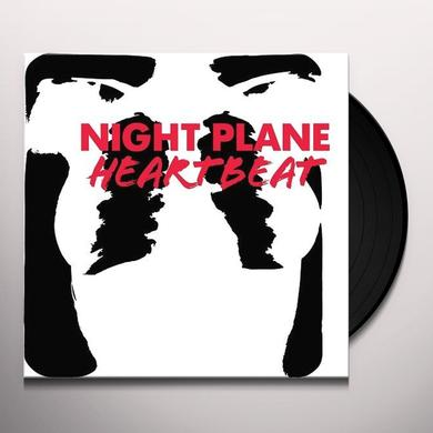 Night Plane HEARTBEAT Vinyl Record