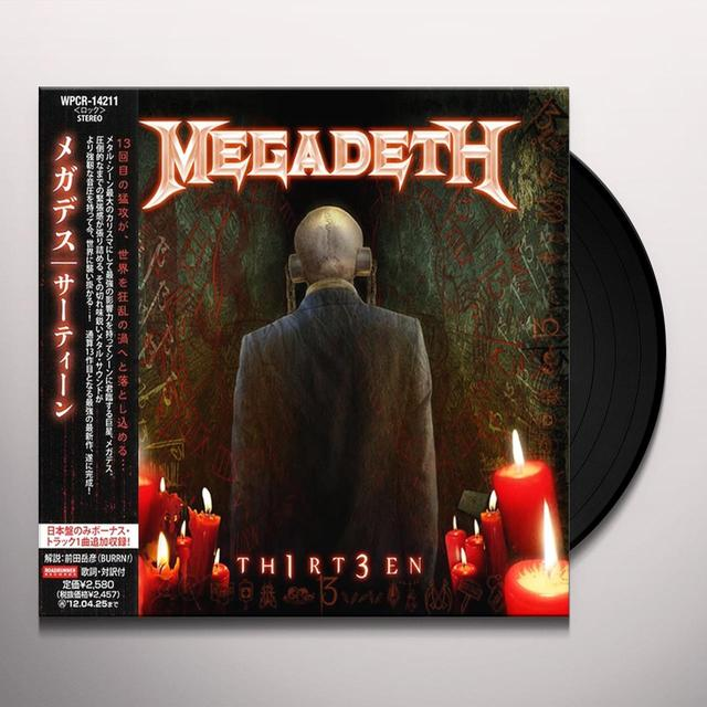 Megadeth TH1RT3EN Vinyl Record