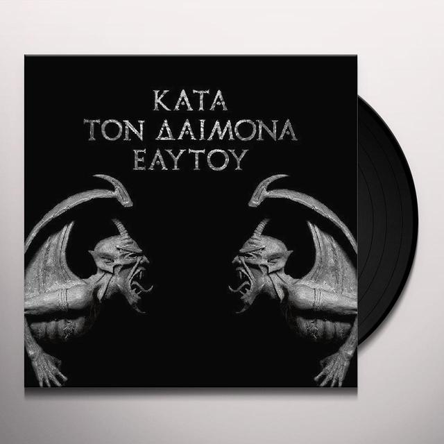 Rotting Christ KATA TON DAIMONA EAYTOY (DO WHAT THOU WILT) (Vinyl)