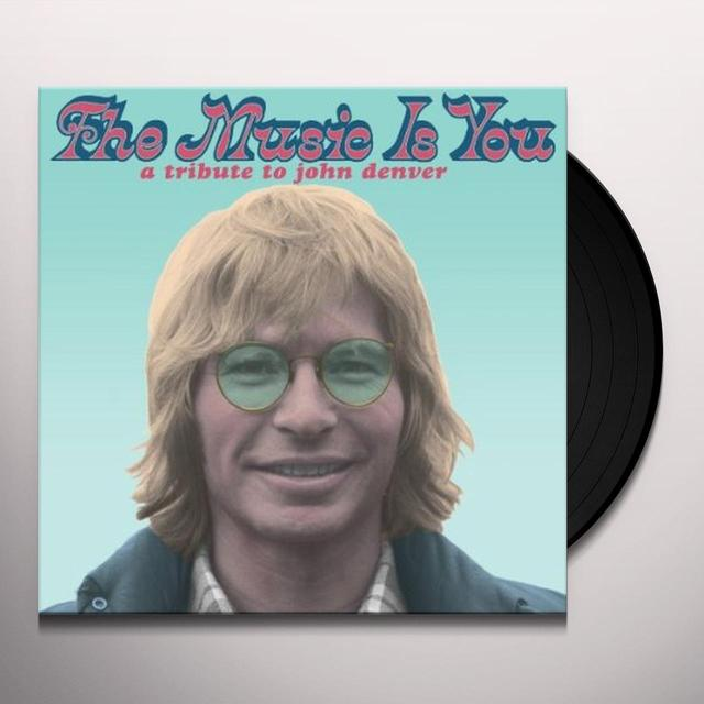 MUSIC IS YOU: A TRIBUTE TO JOHN DENVER / VARIOUS Vinyl Record