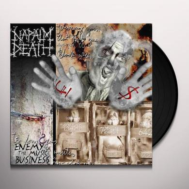 Napalm Death ENEMY OF THE MUSIC BUSINESS Vinyl Record
