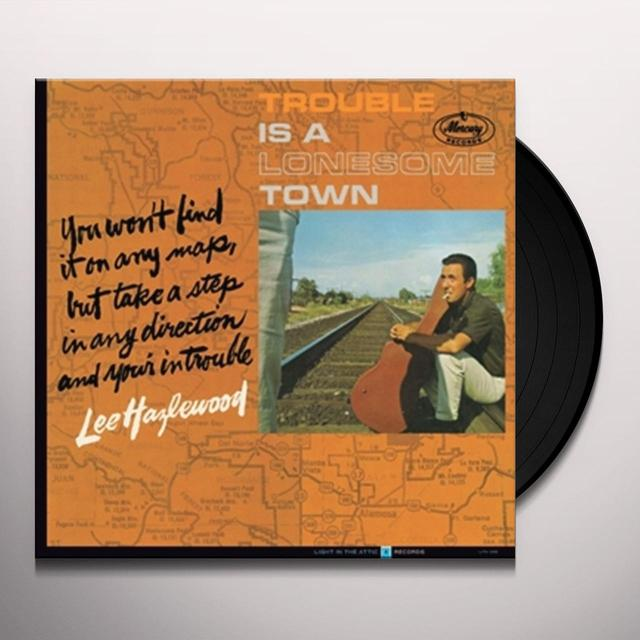 Lee Hazlewood TROUBLE IS A LONESOME TOWN Vinyl Record