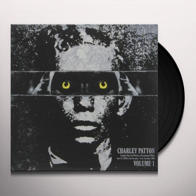 Charley Patton COMPLETE RECORDED WORKS IN CHRONOLOGICAL ORDER 1 Vinyl Record