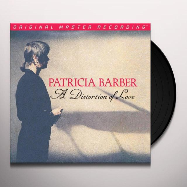 Patricia Barber DISTORTION OF LOVE Vinyl Record