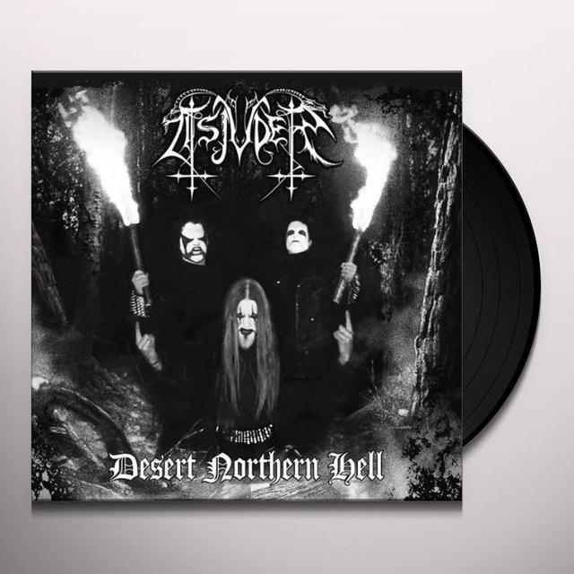 Tsjuder DESERT NORTHERN HELL Vinyl Record - Deluxe Edition, Reissue