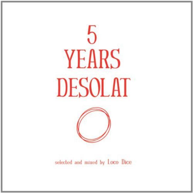 Loco Dice 5 YEARS DESOLAT Vinyl Record