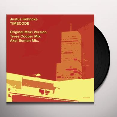 Justus Köhncke TIMECODE Vinyl Record