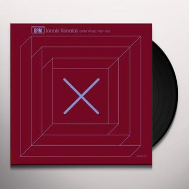 Iannis Xenakis GRM WORKS 1957-1962 Vinyl Record