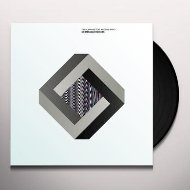 Tiefschwarz NO MESSAGE REMIXES Vinyl Record - Remixes