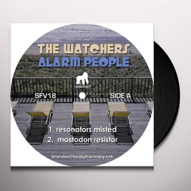 Watchers ALARM PEOPLE Vinyl Record