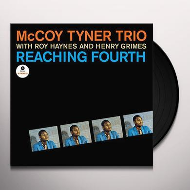 Mccoy Tyner REACHING FOURTH (BONUS TRACKS) Vinyl Record - 180 Gram Pressing