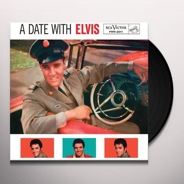 DATE WITH ELVIS Vinyl Record - Limited Edition, 180 Gram Pressing