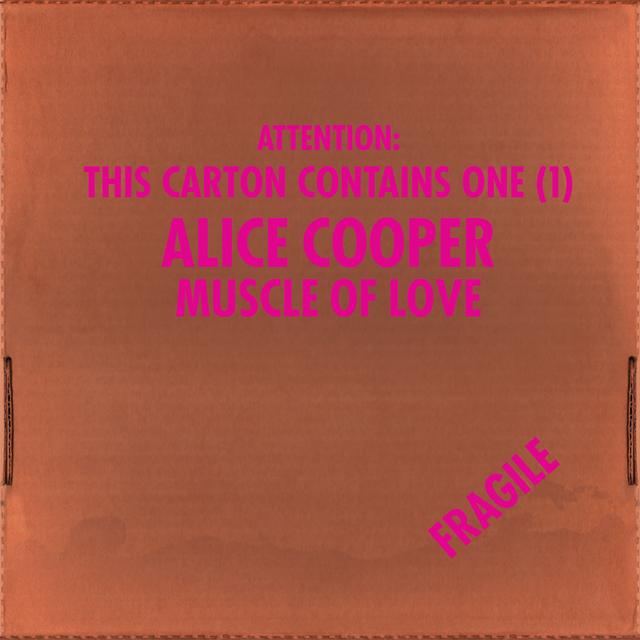 Alice Cooper MUSCLE OF LOVE Vinyl Record