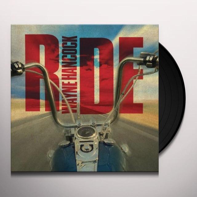 Wayne Hancock RIDE Vinyl Record