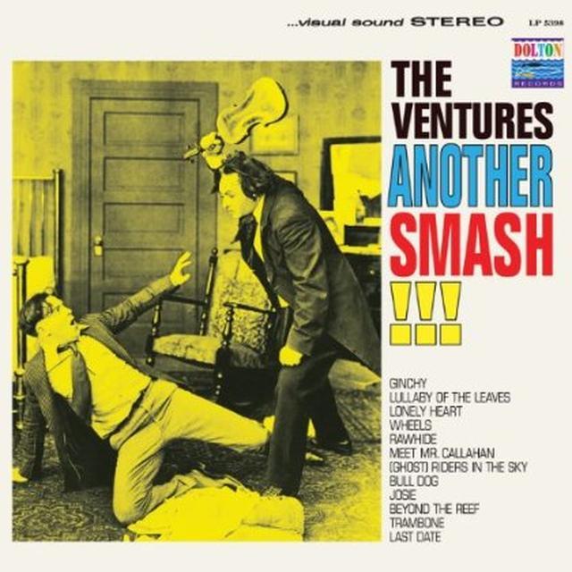 Ventures ANOTHER SMASH Vinyl Record