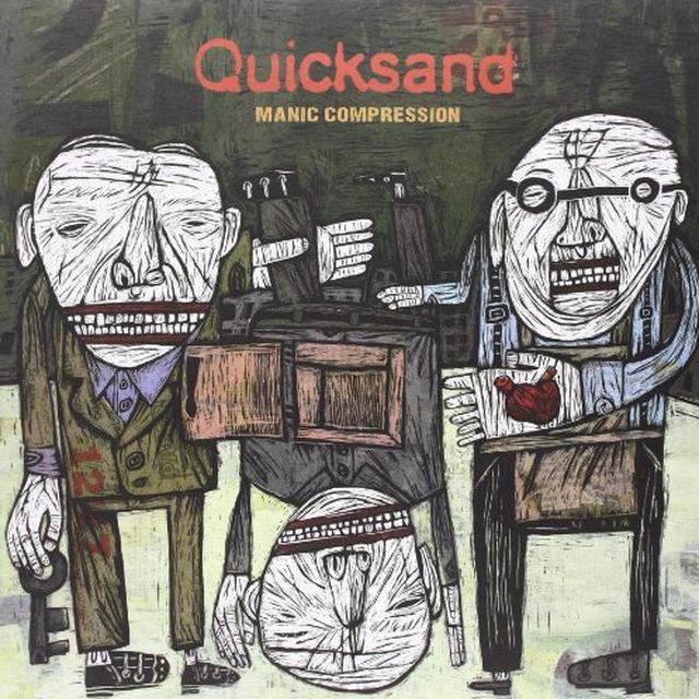 Quicksand MANIC COMPRESSION Vinyl Record - Limited Edition