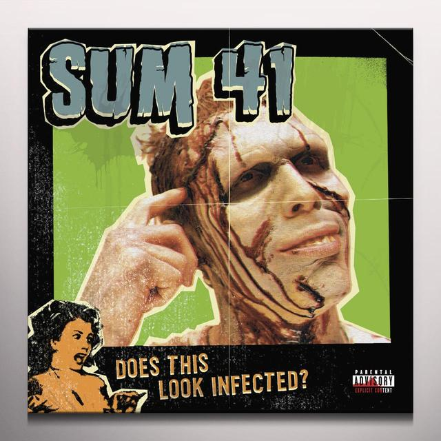 Sum 41 DOES THIS LOOK INFECTED (BONUS TRACKS) Vinyl Record - Colored Vinyl