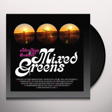 Allen Clapp & His Orchestra MIXED GREENS Vinyl Record