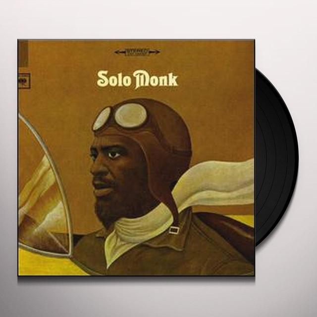 Thelonious Monk SOLO MONK Vinyl Record - 180 Gram Pressing