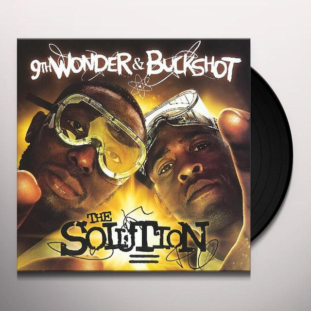 Buckshot & 9Th Wonder SOLUTION Vinyl Record