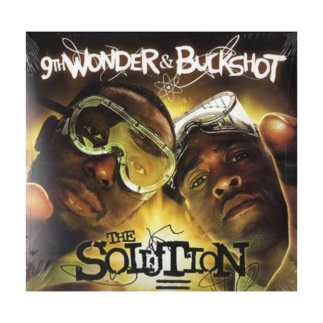 Buckshot & 9Th Wonder SOLUTION Vinyl Record - Deluxe Edition