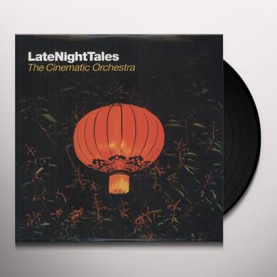 The Cinematic Orchestra LATE NIGHT TALES Vinyl Record - Black Vinyl, Gatefold Sleeve, 180 Gram Pressing, Digital Download Included