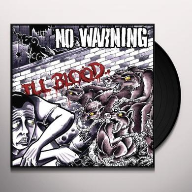 No Warning III BLOOD Vinyl Record