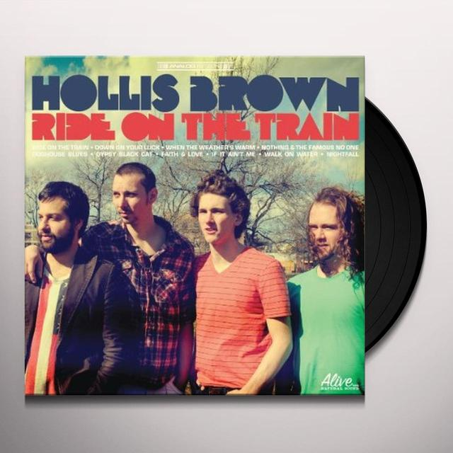 Hollis Brown RIDE ON THE TRAIN Vinyl Record