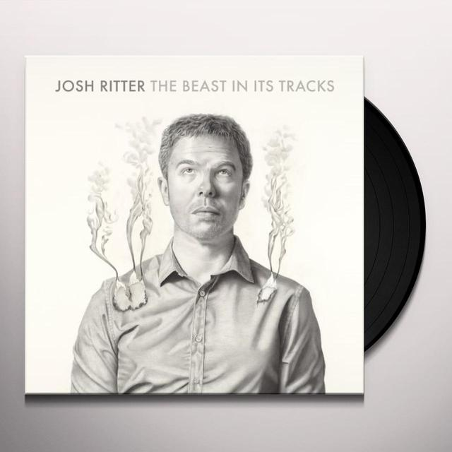 Josh Ritter BEAST IN ITS TRACKS Vinyl Record - w/CD, 180 Gram Pressing