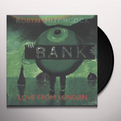 Robyn Hitchcock LOVE FROM LONDON Vinyl Record - w/CD
