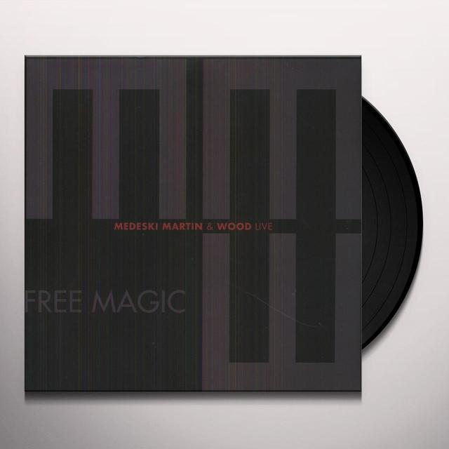 Medeski, Martin & Wood FREE MAGIC Vinyl Record