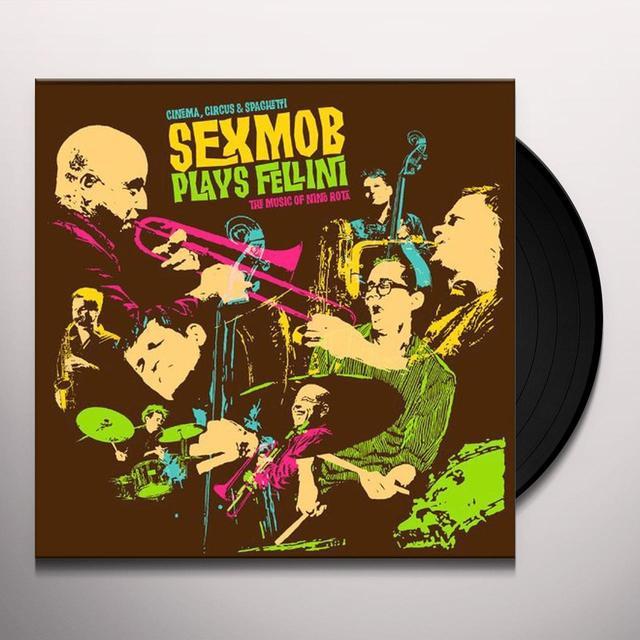 Sexmob CINEMA & CIRCUS & SPAGHETTI Vinyl Record