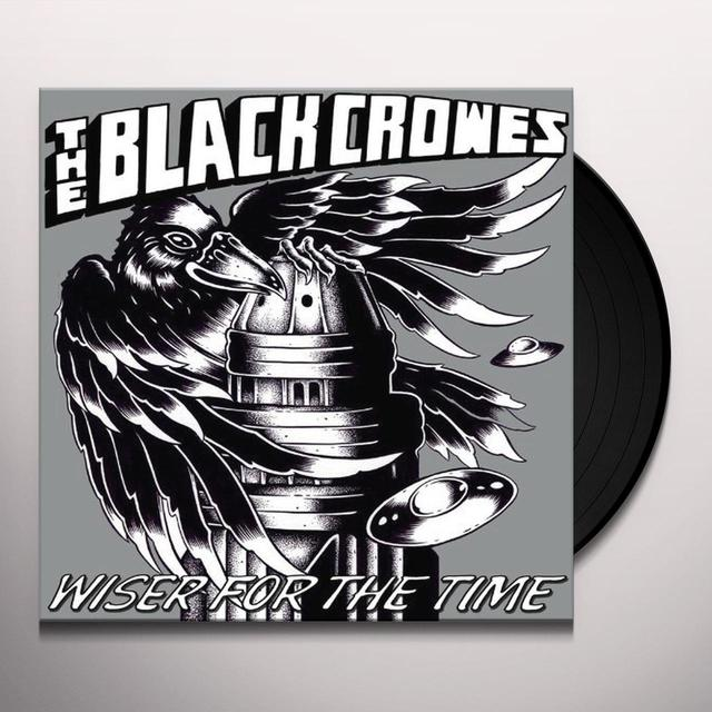 The Black Crowes WISER FOR THE TIME Vinyl Record