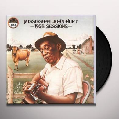 Mississippi John Hurt 1928 SESSIONS Vinyl Record - 180 Gram Pressing, Reissue
