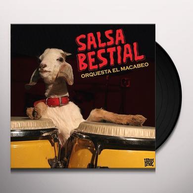 Orquesta El Macabeo SALSA BESTIAL Vinyl Record