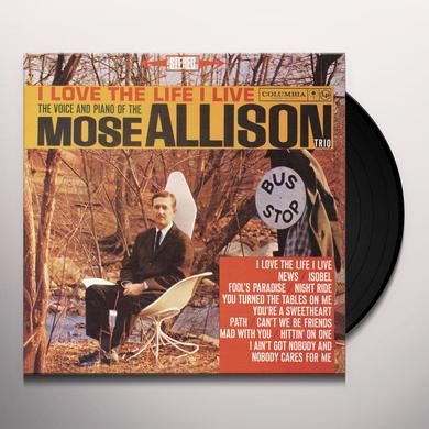 Mose Allison LOVE THE LIFE I LIVE Vinyl Record