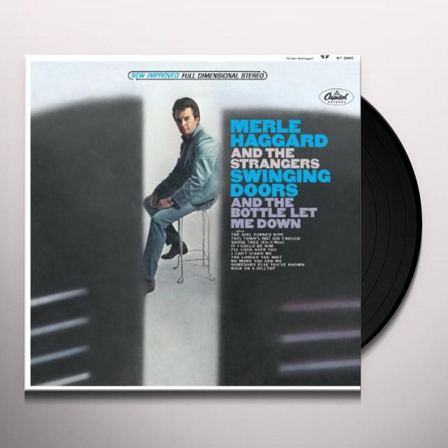 Merle Haggard SWINGING DOORS Vinyl Record