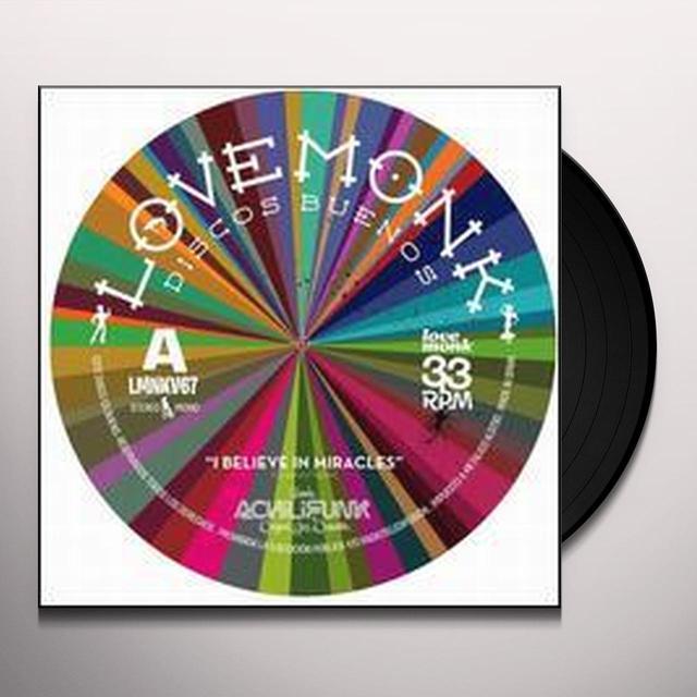 Banda Achilifunk & Ojo I BELIEVE IN MIRACLES Vinyl Record