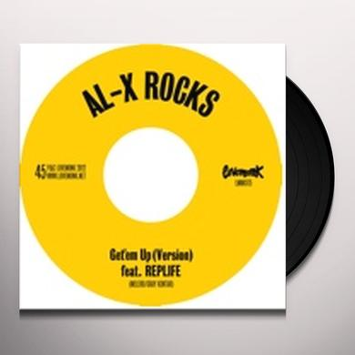Al-X Rocks GET EM UP Vinyl Record