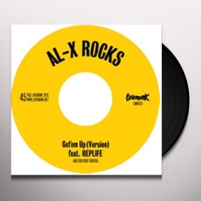 Al-X Rocks GET EM UP Vinyl Record