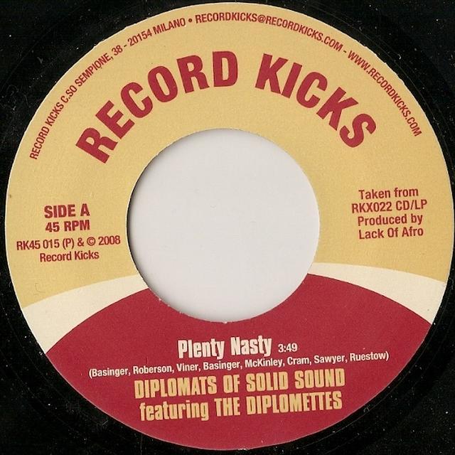 Diplomats Of Solid Sound PLENTY NASTY Vinyl Record
