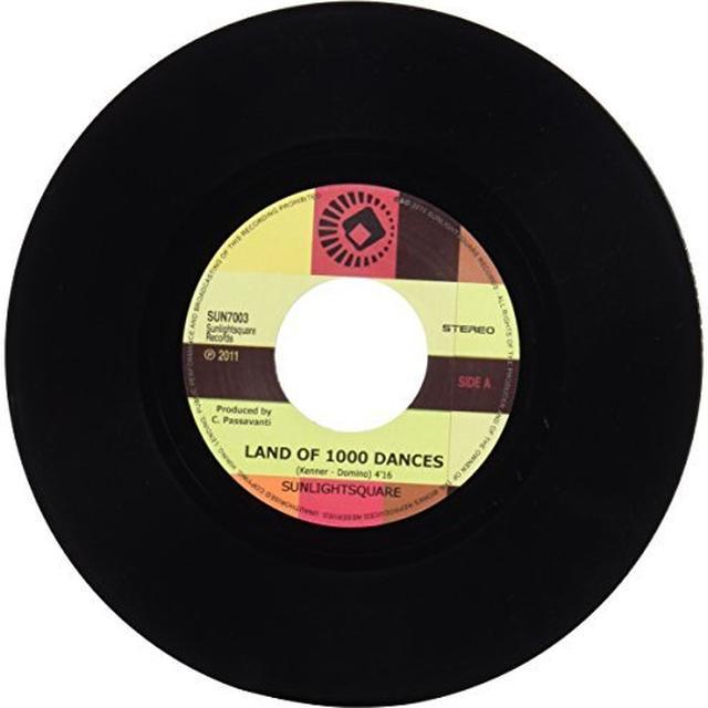 Sunlightsquare LAND OF 1000 DANCES Vinyl Record