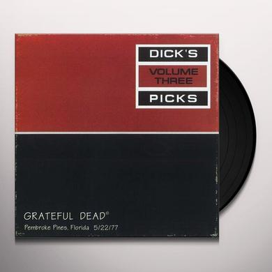 Grateful Dead DICK'S PICKS 3 Vinyl Record