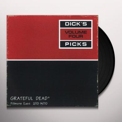 Grateful Dead DICK'S PICKS 4 Vinyl Record