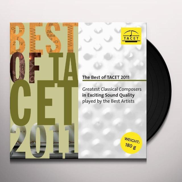 Kreisler / Gaede / Auryn Quartet BEST OF TACET 2011 Vinyl Record