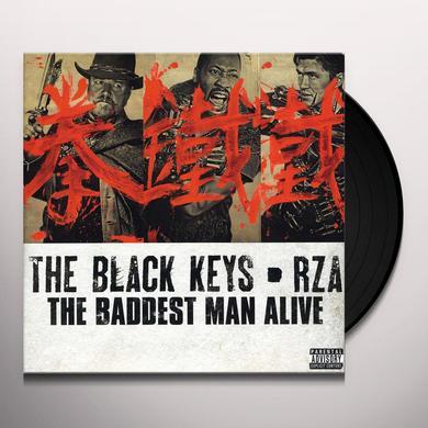 Black Keys / Rza BADDEST MAN ALIVE Vinyl Record